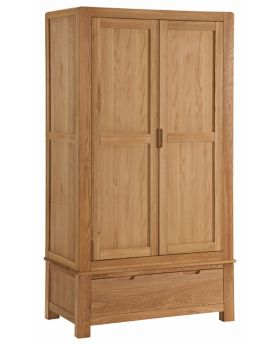 Classic Furniture Oslo Oak Double Wardrobe