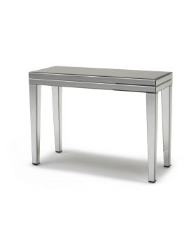 Kesterport Paradox Mirrored Console Table