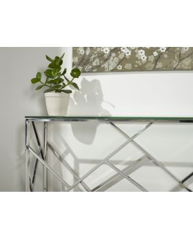 Serene Phoenix Console Table
