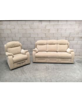 Parker Knoll Boston 3 Seater & Power Chair