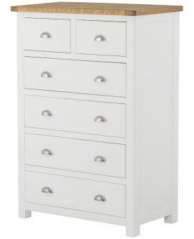 Classic Furniture Portland 2 over 4 Chest-white