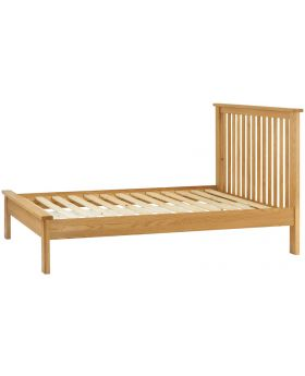 Classic Furniture Portland 4'6 Bed-oak