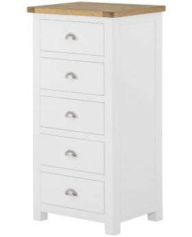 Classic Furniture Portland Wellington Chest-white