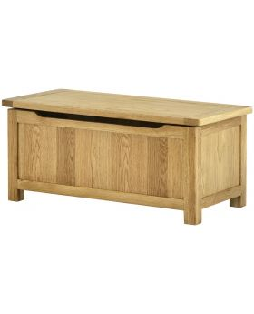 Classic Furniture Portland Blanket Box - Oak