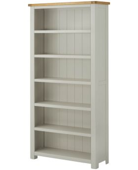 Classic Furniture Portland Large Bookcase-stone