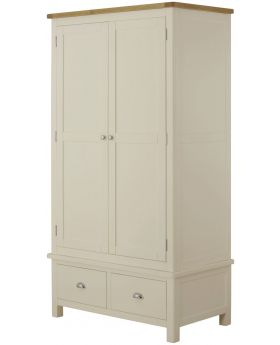 Classic Furniture Portland Gents Wardrobe-cream
