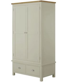 Classic Furniture Portland Gents Wardrobe-stone