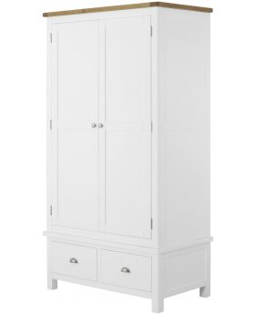 Classic Furniture Portland Gents Wardrobe-white