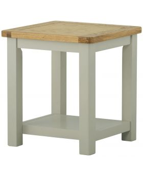 Classic Furniture Portland Lamp Table-stone