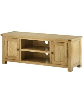 Classic Furniture Portland Large TV Cabinet-oak