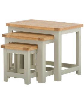 Classic Furniture Portland Nest of Tables-stone