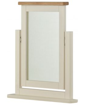 Classic Furniture Portland Dressing Table Mirror-cream