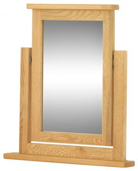 Classic Furniture Portland Dressing Table Mirror-oak