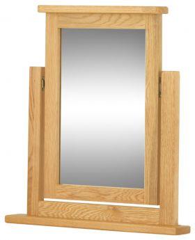 Classic Furniture Portland Dressing Table Mirror-oak