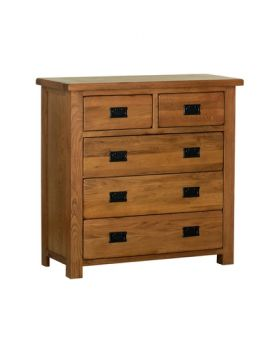 Devonshire Rustic Oak 3 + 2 Chest