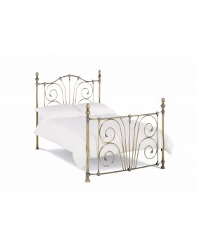 Bentley Designs Rebecca Antique Brass Bedframe