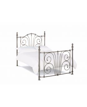 Bentley Designs Rebecca Antique Nickel Bedframe