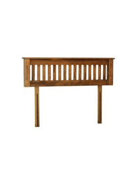 "Devonshire Rustic Oak 4'6"" Headboard"