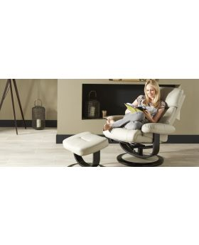 Serene Risor Leather Recliner Chair