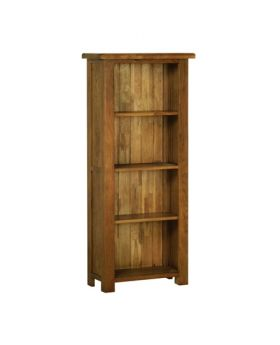 Devonshire Rustic Oak 5' Narrow Bookcase
