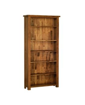 Devonshire Rustic Oak 6' Bookcase