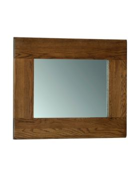 Devonshire Rustic Oak Wall Mirror 750 * 600