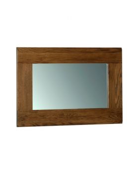 Devonshire Rustic Oak Wall Mirror 900 * 600
