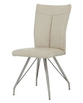 Habufa Aline Dining Chair with Stainless Steel Spider Legs