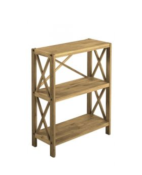 Unique Royal Oak 3 Tier Shelf Unit