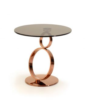 Kesterport Rose Rings Lamp Table