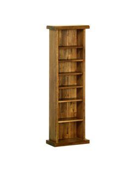 Devonshire Rustic Oak Cd/Dvd Rack