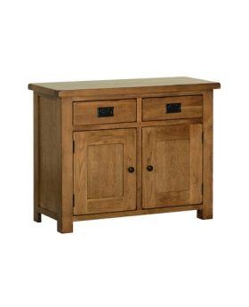 Devonshire Rustic Oak 3' Dresser Base