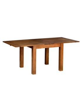 Devonshire Rustic Oak 3' X 3' Flip Top Extendable Table