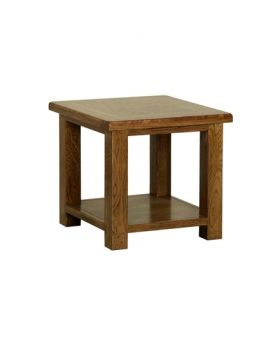 Devonshire Rustic Oak Coffee Table 530Mm
