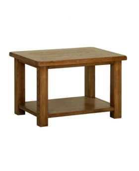 Devonshire Rustic Oak Coffee Table 760Mm
