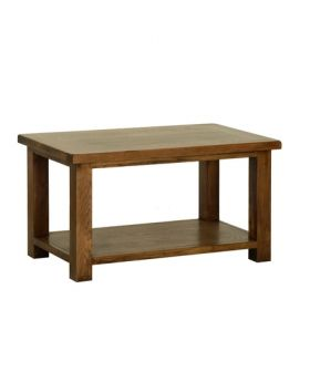 Devonshire Rustic Oak Coffee Table 915Mm