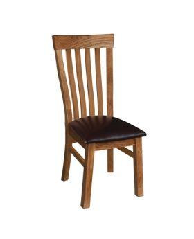 Devonshire Rustic Oak Toulouse Chair