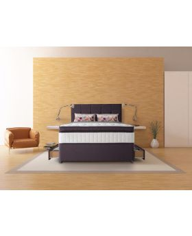Sealy 2600 Pocket Latex Pescara Divan Bed Set