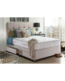 Sealy Riva Ortho Pocket 1400 Divan Bed Set