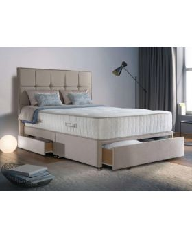 Sealy Romula Ortho Pocket 1400 Geltex Divan Bed Set