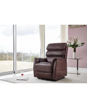GFA Scorpio Lift & Rise Leather Power Recliner Chair