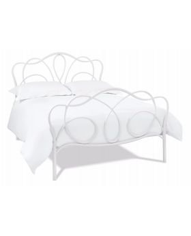Bentley Designs Serenity White Metal Bedframe
