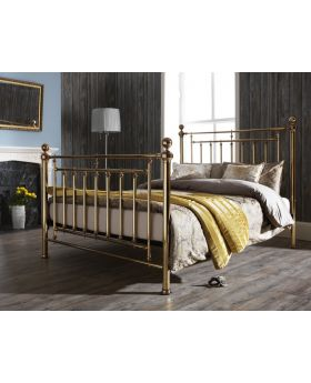 Serene Solomon Metal Bed Frame