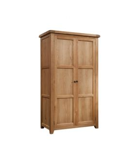 Devonshire Somerset Oak Double Wardrobe