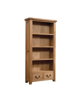 Devonshire Somerset Oak Bookcase 900 X 1800
