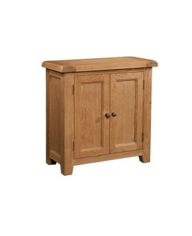 Devonshire Somerset Oak 2 Door Cabinet