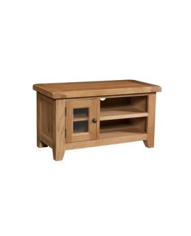 Devonshire Somerset Oak Small TV Unit