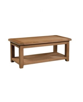 Devonshire Somerset Oak Large Coffee Table