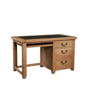Devonshire Somerset Oak Office Desk Ukfr Pu Top