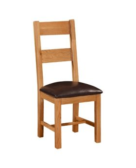 Devonshire Somerset Oak Ladder Back Chair